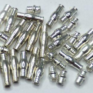 Tungsten Flaschentuben - silber