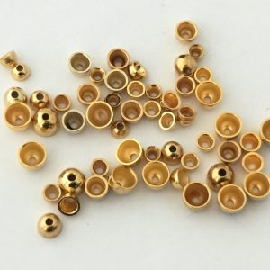Coneheads aus Tungsten f. 1.5 mm - gold