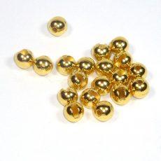 Geschlitzte Perlen aus Tungsten - gold