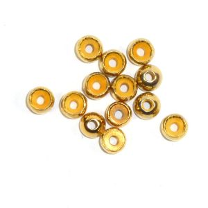 Standard Perlen aus Tungsten - gold
