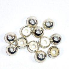 Standard Perlen aus Tungsten - silber