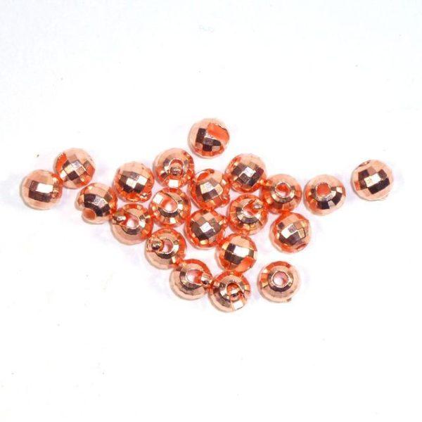Facettierte Perlen aus Tungsten - kupfer