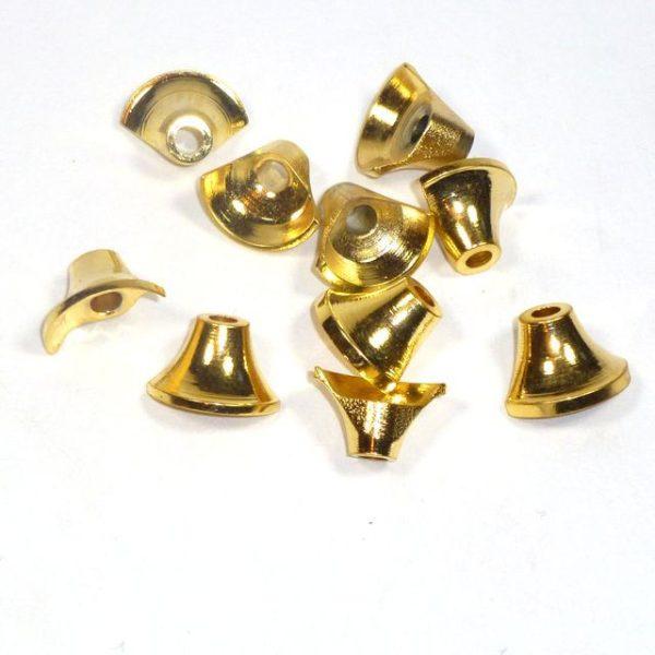 Halbe Turbos Tungsten gold