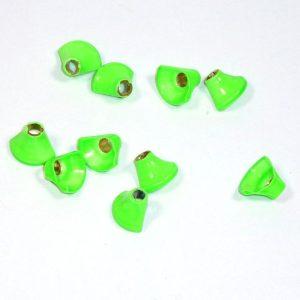 Halbe Turbos Messing - grün