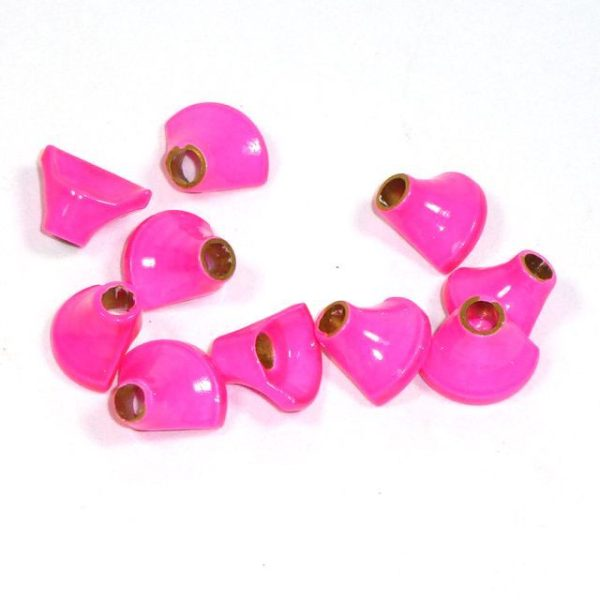 Halbe Turbos Messing - pink