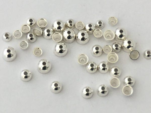 Coneheads aus Tungsten f. 1.5 mm - silber